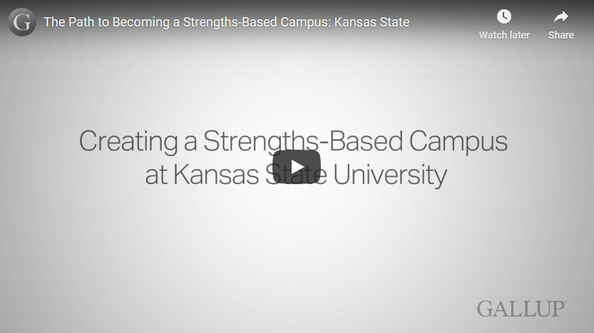 Play video:The Path to Becoming a Strengths-Based Campus: Kansas State