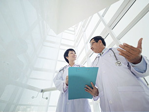 Engagement in Healthcare - Magazine cover