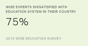 WISE Experts Dissatisfied With Education System in Their Country