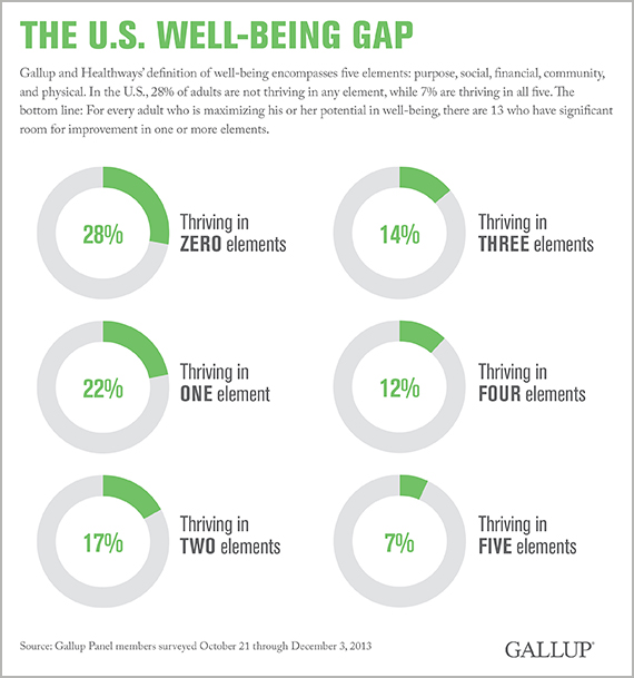 The U.S. Well-Being Gap