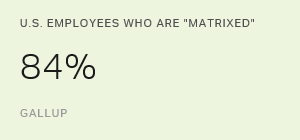 "U.S. Employees Who Are ""Matrixed"""