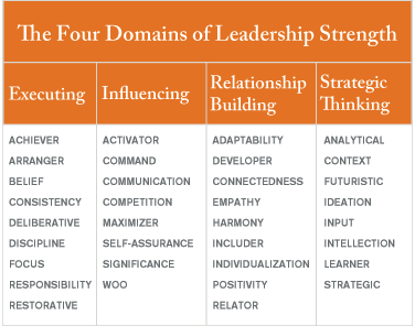 The Four Domains of Leadership Strength