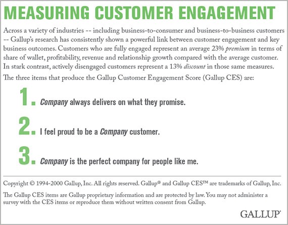 Measuring Customer Engagement