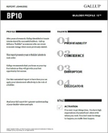 Take the BP10 Assessment