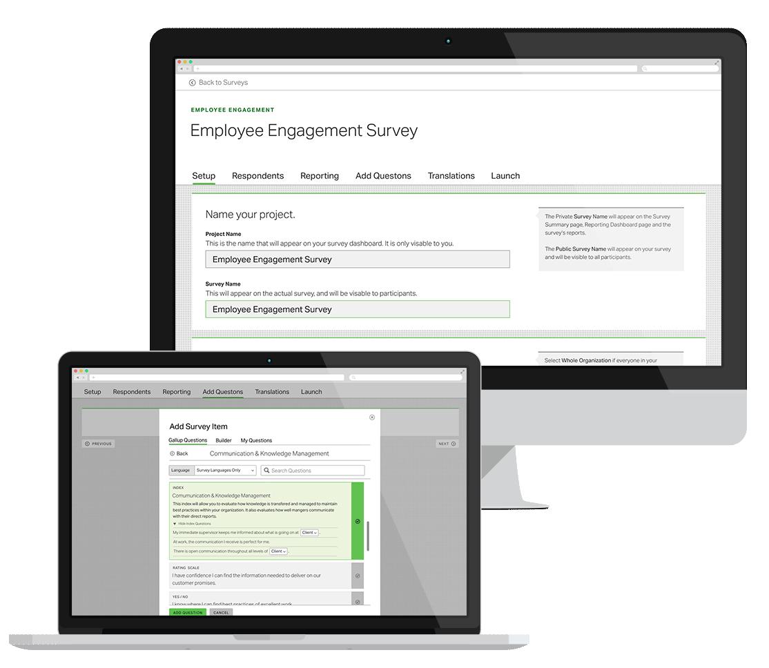 EE Survey Screenshot