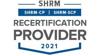 SHRM Recertification Provider logo.