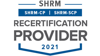SHRM Recertification Provider logo.