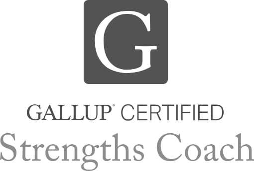 Gallup-Certified Strengths Coach logo.