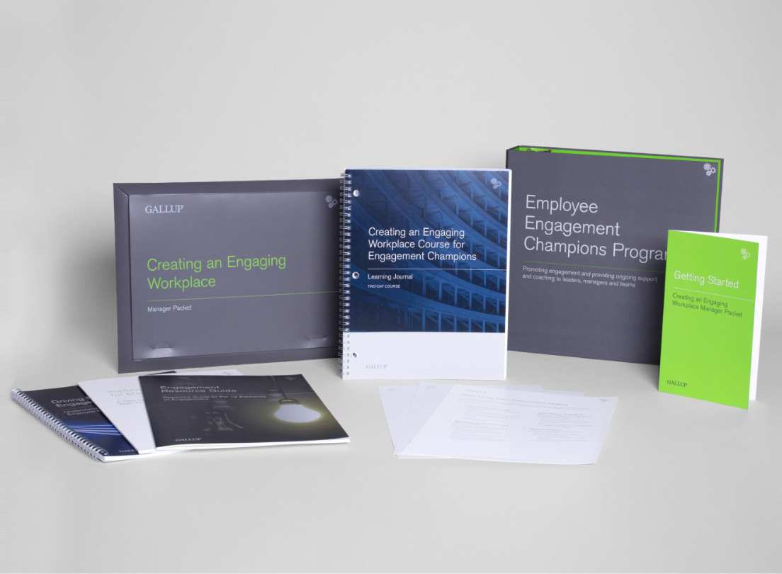 Materials included in the Engagement Every Day Champions Toolkit.