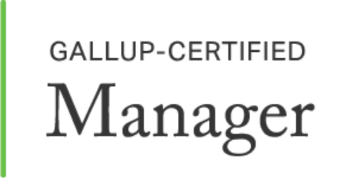 Gallup-Certified Manager logo.