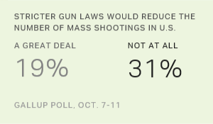American Public Opinion and Guns
