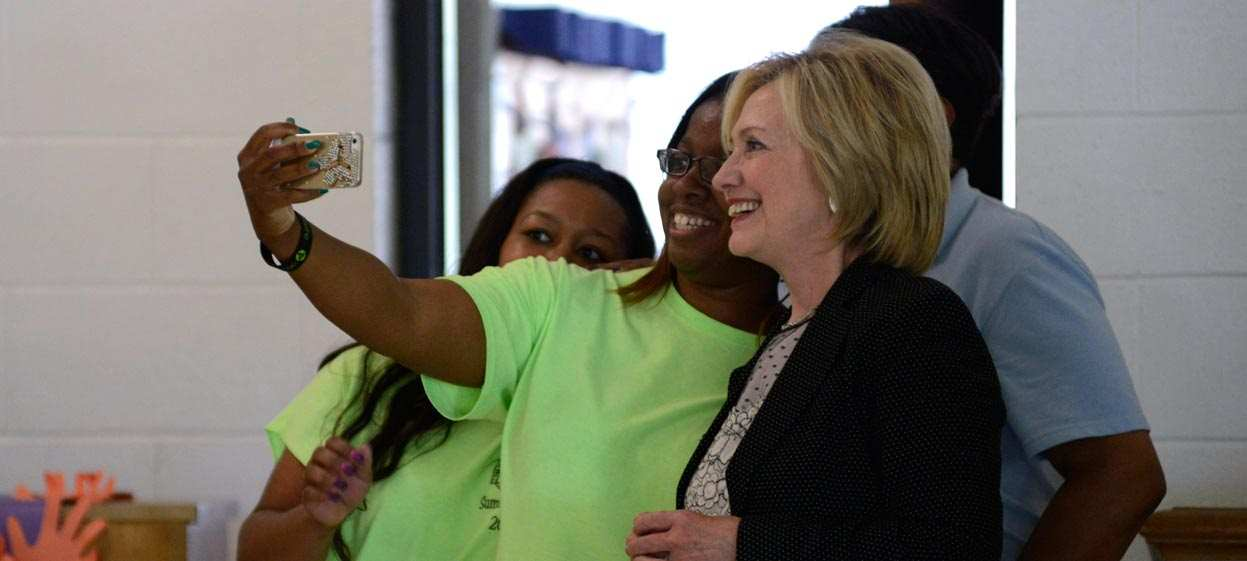 Clinton's Favorability Strong Among Black Americans