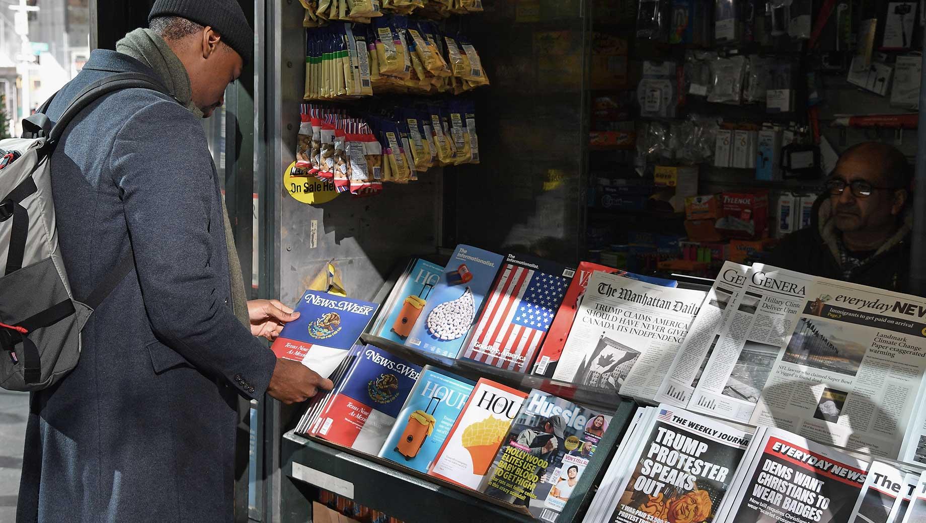 Americans Remain Distrustful of Mass Media