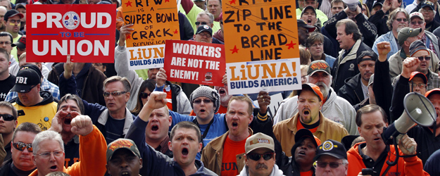 In U.S., Labor Union Approval Steady at 52%