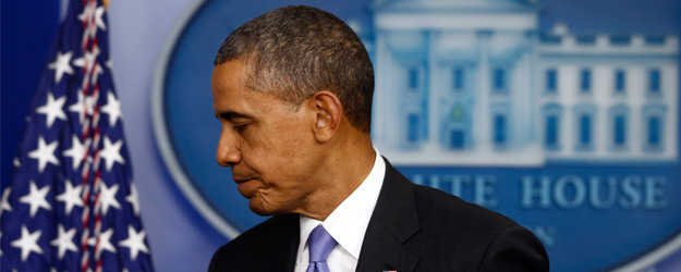 Obama's Job Approval Declines to 44.5% in 19th Quarter