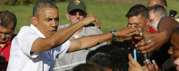 Hispanics' Approval of Obama Down Since '12