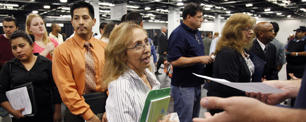 In U.S., Unadjusted Unemployment Flat So Far in June
