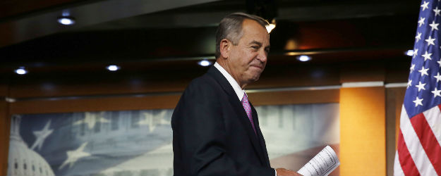 Boehner's Favorability Returns to Pre-Shutdown Levels
