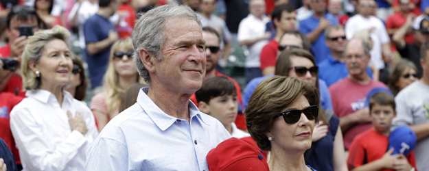 Former President George W. Bush's Image Ratings Improve