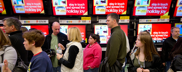 U.S. Christmas Spending Intentions on Pace With 2011