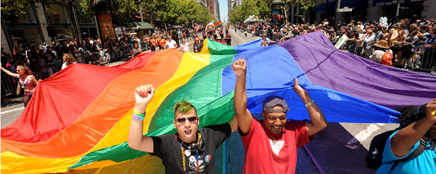 LGBT Americans Skew Democratic, Largely Support Obama