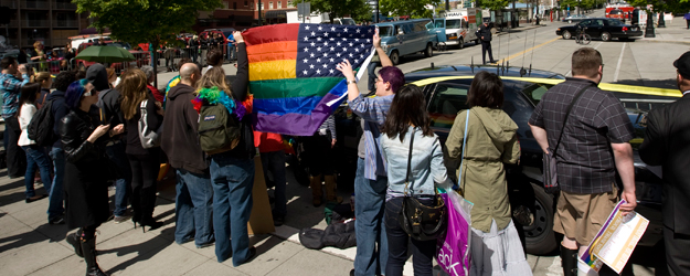 Six in 10 Say Obama Same-Sex Marriage View Won't Sway Vote