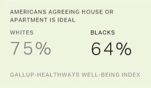 Blacks Least Likely Among U.S. Racial Groups to Say Home Ideal