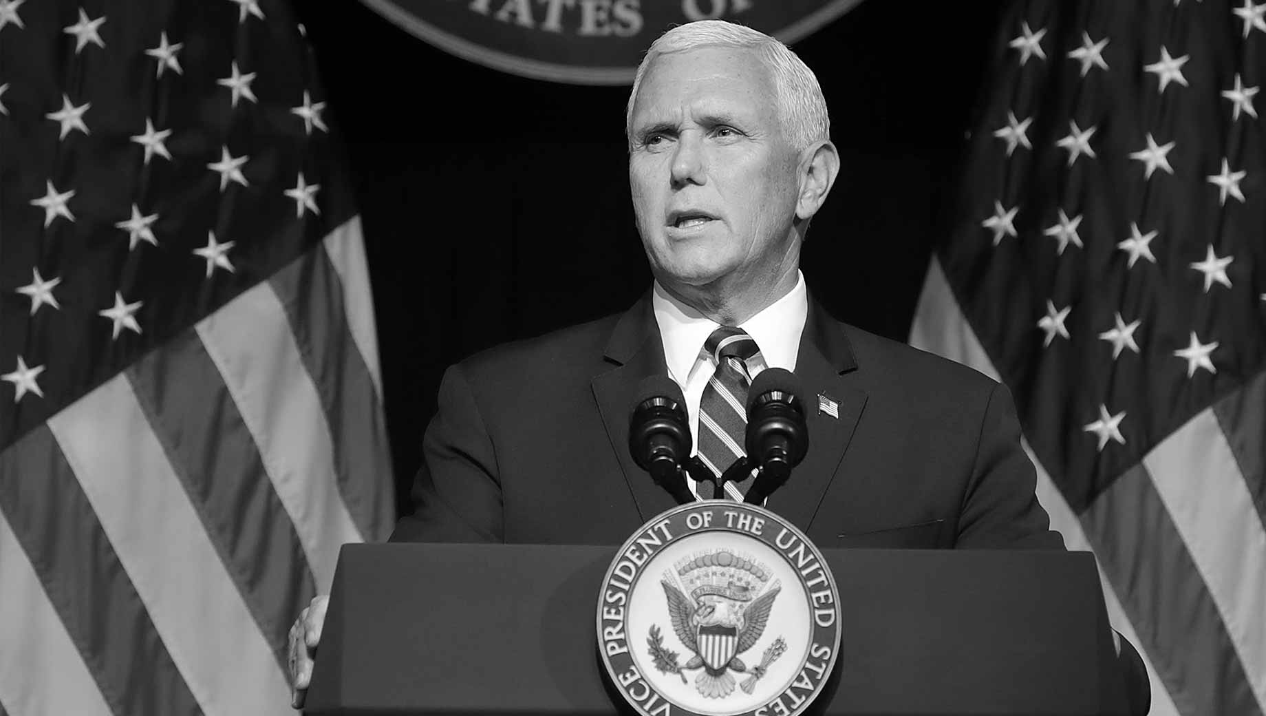 U.S. Opinion on Pence Remains Divided