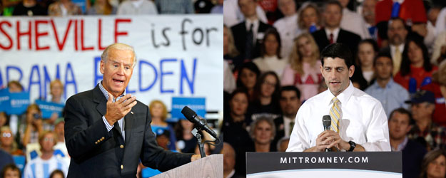 Pre-Debate, Biden, Ryan Share Lackluster Favorable Ratings