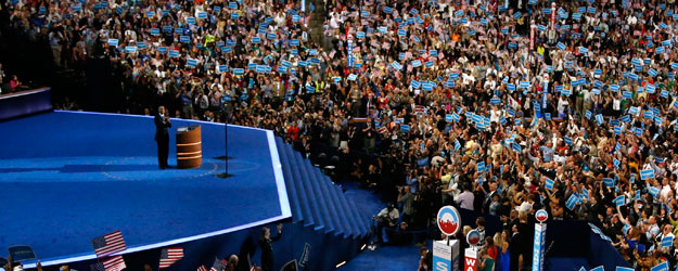 Democratic Convention Rated Slightly Better Than GOP Convention