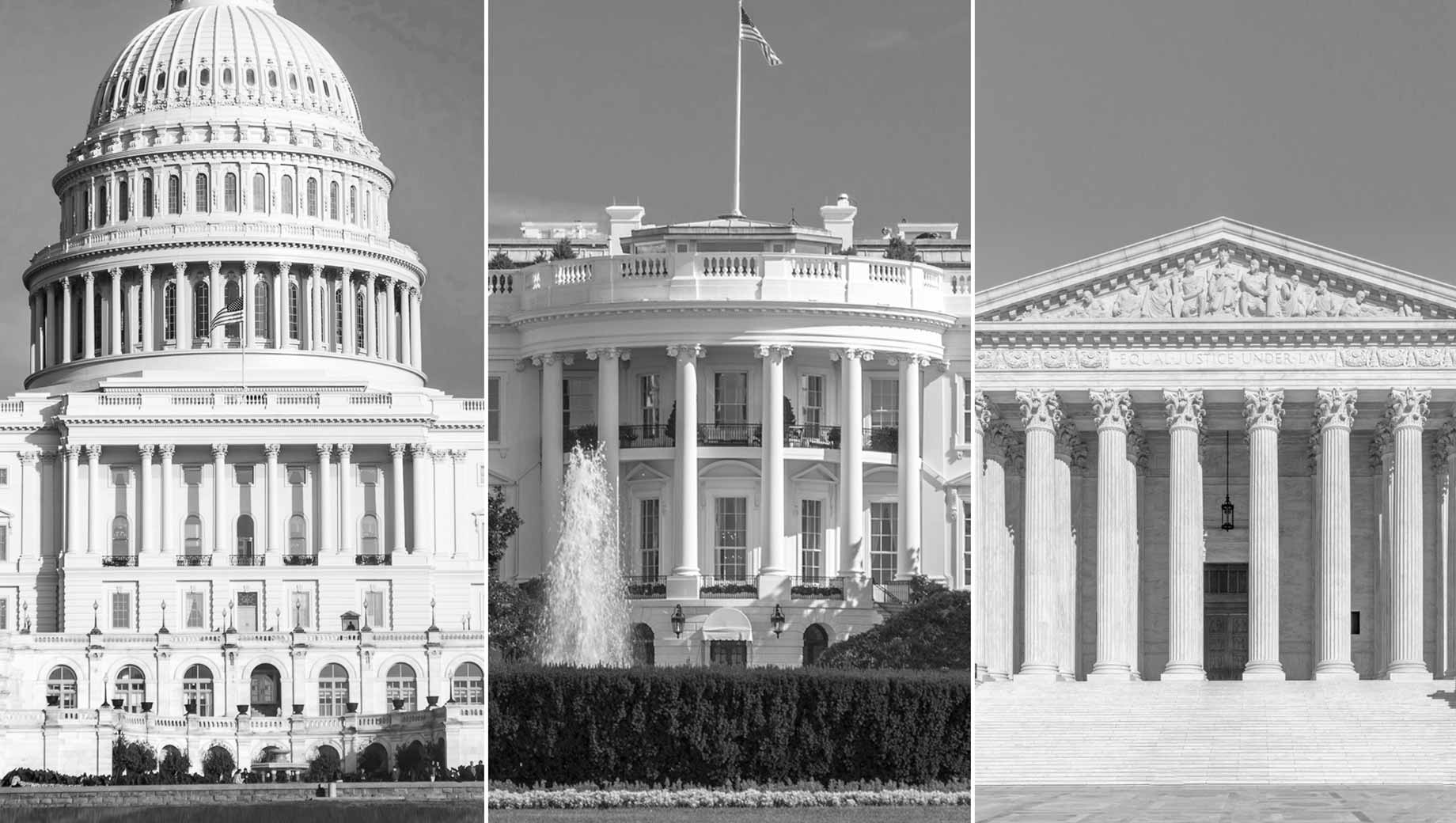 Government Ranks as Top U.S. Problem for Third Year