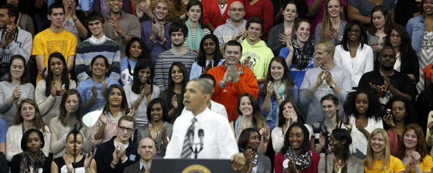 Young Voters Back Obama, but Many Aren't Poised to Vote