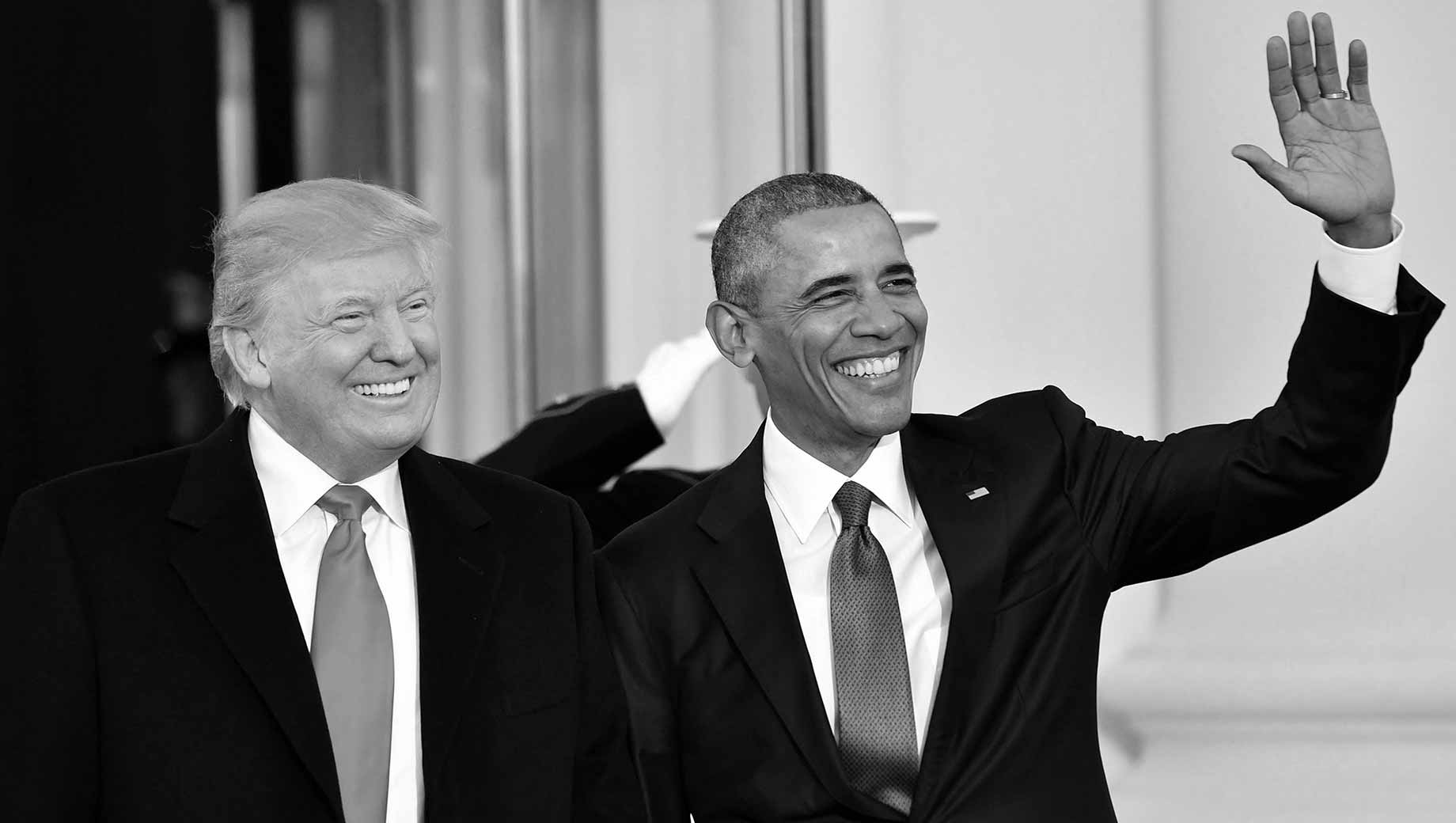 Obama, Trump Tie as Most Admired Man in 2019