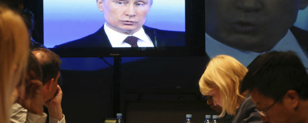Russians Rely on State Media for News of Ukraine, Crimea