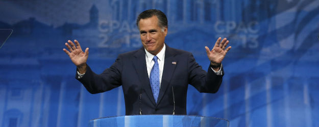 Americans' Views of Romney Little Changed Since Election