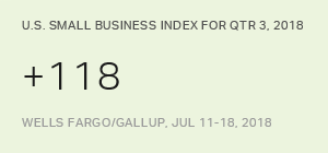 U.S. Small-Business Owners' Optimism at Record High