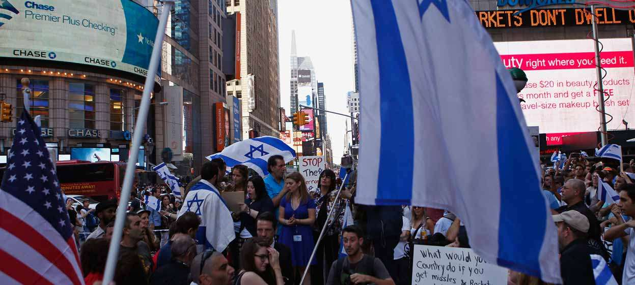 Seven in 10 Americans Continue to View Israel Favorably