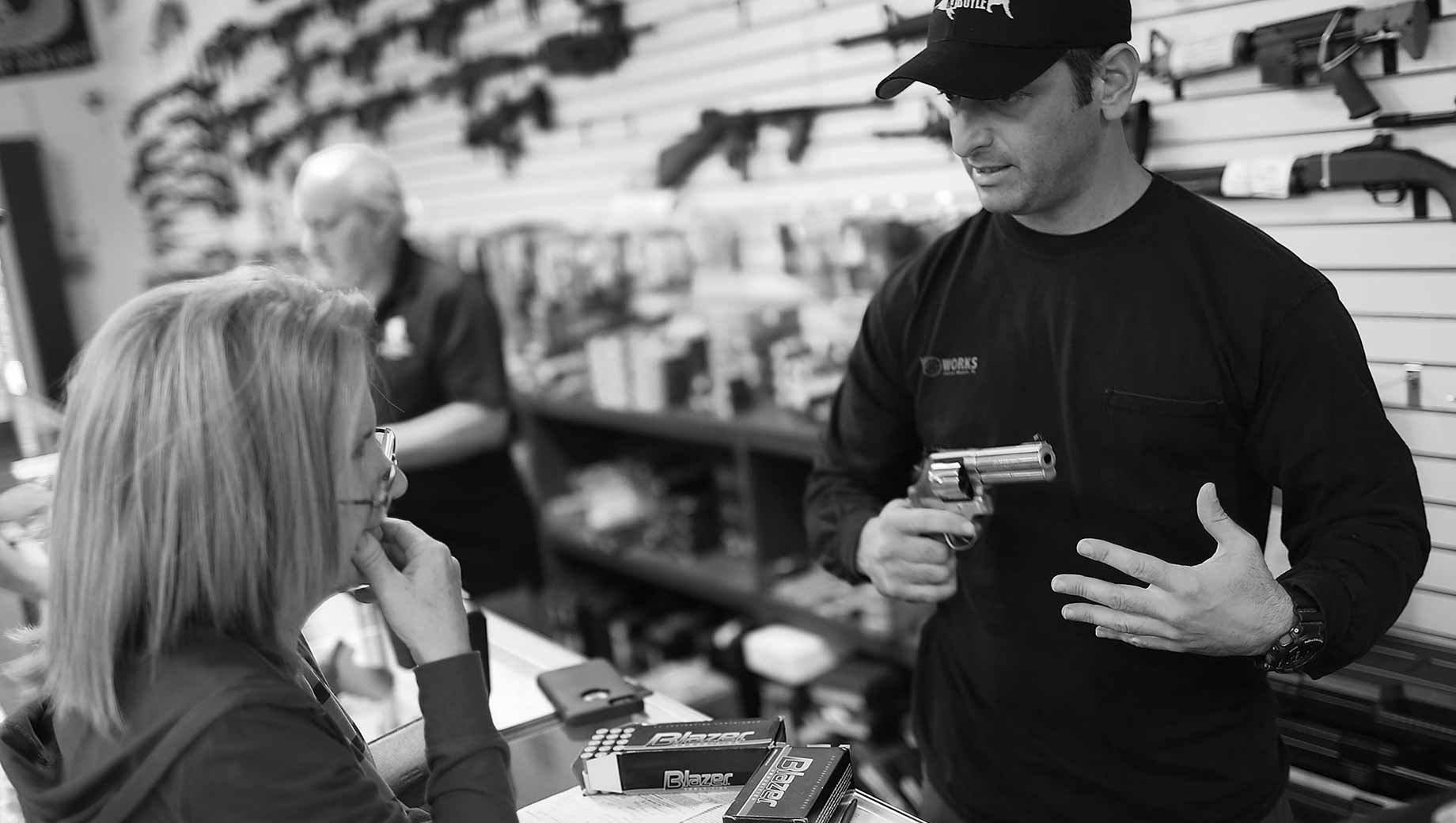 Six in 10 Americans Support Stricter Gun Laws