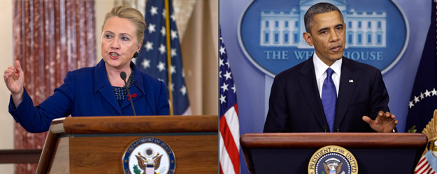 Hillary Clinton, Barack Obama Most Admired in 2012