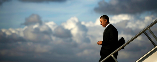 Obama's Image as 'Strong and Decisive Leader' Takes a Hit
