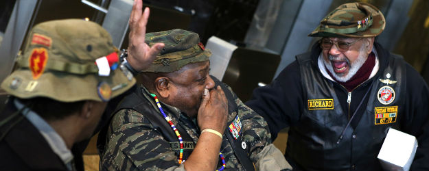 In U.S., Veterans Report Less Stress, Worry Than Civilians