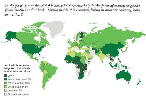 Receive remittances