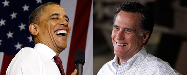 Obama-Romney Race Competitive in 2012 Swing States
