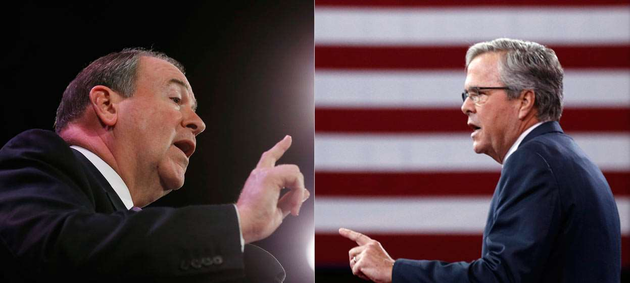 Huckabee, Bush Well-Known, Well-Rated Among Republicans