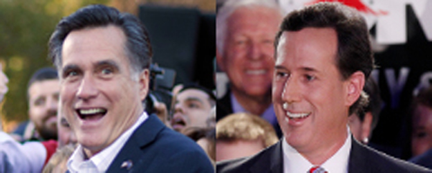 Romney, Santorum Rising Nationally After Iowa