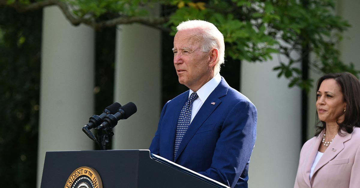 Current Status: Biden's Approval Rating Hits New Low of 43%; Harris' Is 49%