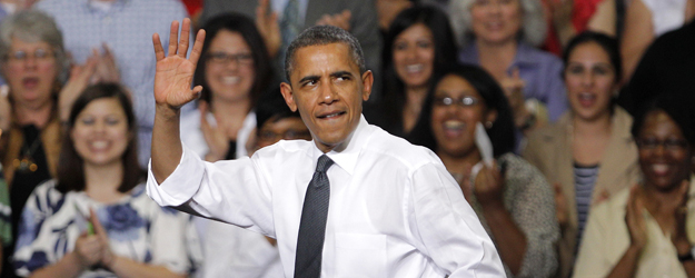 Obama Solidifying Lead Among Independents in Swing States