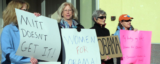 Gender Gap in 2012 Vote Is Largest in Gallup's History