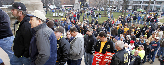 Majority of Union Members Favor Obama; a Third Back Romney