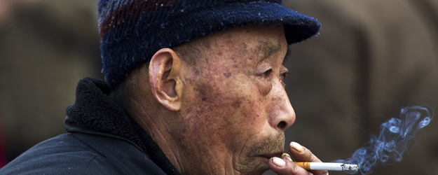 Three in 10 Chinese Adults Smoke
